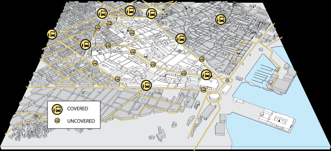 El Raval Map_BUSSES
